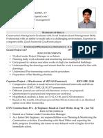 Peddu Sree Surya MBACPM CV Final