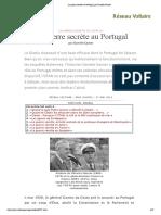 La guerre secrète au Portugal, par Daniele Ganser