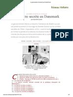 La guerre secrète au Danemark, par Daniele Ganser