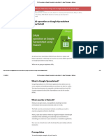 CRUD Operation on Google Spreadsheet Using NodeJS – Agira Technologies – Medium