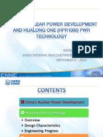 Desarrollos de centrales nucleares china