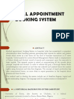 Medical Appointment Booking System Ppt