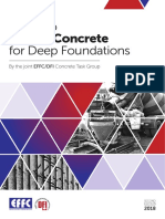 2018. Guide to Tremie Concrete for Deep Foundations