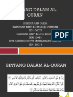 Bintang Dalam Al-quran