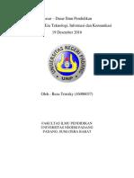 DDIP Pendidikan Di Era Teknologi