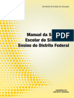 SEDF Manual Da Secretaria Escolar