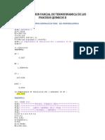 Primer Examen Parcial de Termodinamica de Los Procesos Quimicos II