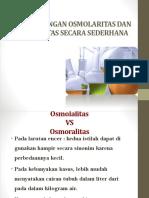 PERHITUNGAN OSMOLARITAS