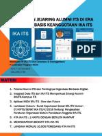 Presentasi - Membangun Jejaring Alumni Its Di Era Digital Berbasis - Rev