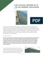 La Maldición de Los Recursos Naturales en El Perú_ Alcances de Una Hipótesis Controversial - EcoPortal.net