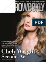 Metro Weekly, Dec. 13, 2018 -- Chely Wright