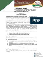 Reglamento Del i Concurso Nacional de Quesos - Xv Festival Nacional de Quesos 2018 - Ayaviri