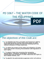PD 1067 Water Code of the Philippines
