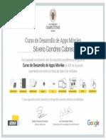 Certificado de Creación de Apps Para Móviles
