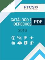 Catálogo de Derechos Junio 2016