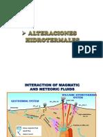 Geoquimica General - Vgrm - Semana 13 Alteraciones Hidrotermales (2)