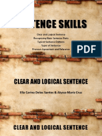 Sentence Skills