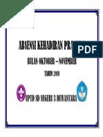 ABSENSI KEHADIRAN PRAMUKA