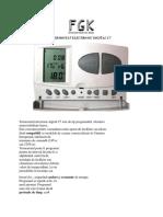 Termostat Electronic Digital c7