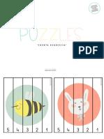 12 Puzzles Regresivos