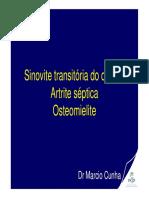 Sinovite Transitória, Artrite Séptica, Osteomielite.pdf