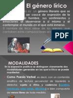 El  género lírico 8°.ppt