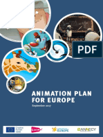 Animation Plan for Europe