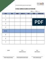 Registro de Horas Cubiertas en Ausencia de Profesores