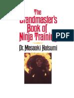 El Libro de Entrenamiento Ninja Del Gran Maestro