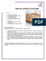 Pan Marmoleado de Vainilla y Chocolate
