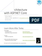 Clean Architecture With ASP.net Core