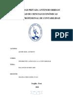 Balanced Scorecard Informatica