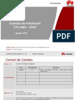 Estandar de Instalacion LTE AWS 4T6S 2018 v3
