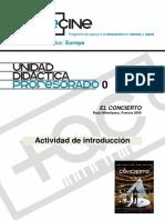 Ud 0 Profesorado El Concierto Actividad Introduccion