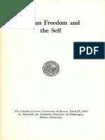 Chrisholm - Human Freedom and the Self-1964.pdf
