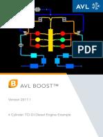 Modelo combustão AVL Boost