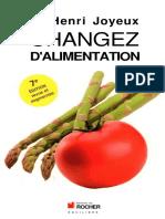 Pr Henri Joyeux - Changez d'alimentation.pdf