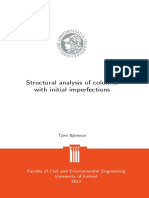Tjörvi Björnsson - Structural ananalysis of columns with initial imperfections.pdf