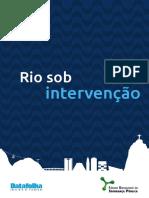 FBSP Rio Sob Intervencao 2018 Relatorio