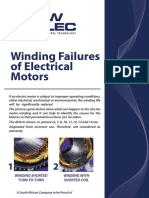 Winding Failure