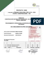 105-16062-MOB01818-PRO-420-Q-0032 Rev. 0