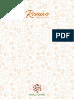 Catalogo Romeo 2019 IDR Industria Dolciaria Romeo Srl