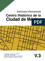Seminario permanente. Centro histórico de la Ciudad de México