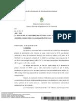 PRESCRIPCION DE CREDITOS RECONOCIDOS POR SENTENCIA  ART. 56 DE LA LEY DE CONCURSOS Y QUIEBRAS ARGENTINA