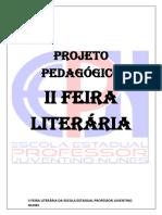 II Feira Literaria 2018 Dia 03