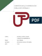 Trabajo SCOR - Jhonatan Apaza Vizcarra
