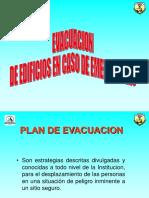 evacuación incendios