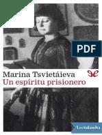 Un Espiritu Prisionero - Marina Tsvietaieva