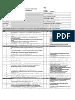 Cuestionario de Evaluación de Riesgos en Salud Ocupacional