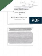 TDS & Return (Ranjan Kumar Sir), Synopsis
